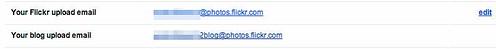 Flickr で Blog