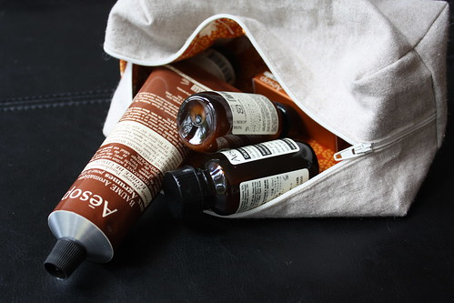 Boxy Pouch  + Aesop