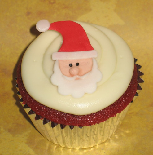 SANTA CUPCAKE by two parts sugar.