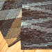 Diamond rag rugs by Linda Kennedy
