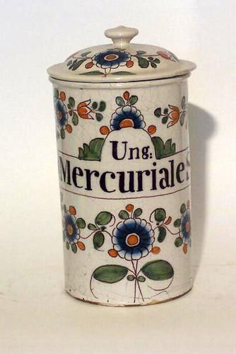 012- Ung. Mercuriale S.- Siglo XVIII Bordeaux