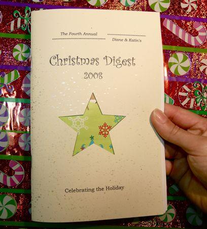 Diane + Katin's Christmas zine!