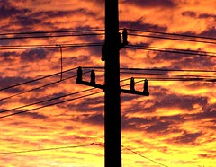Saturday sunset (EcoSnake) Tags: sunset idaho boise powerlines anawesomeshot december62008 congratsfrankonexplore