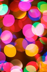 Christmas Lights (Suarez) Tags: christmas blue red usa abstract tree green yellow austin catchycolors 50mm lights texas magenta vivid christmastree christmaslights 50mmf14 hbw abigfave colourartaward vividmasters