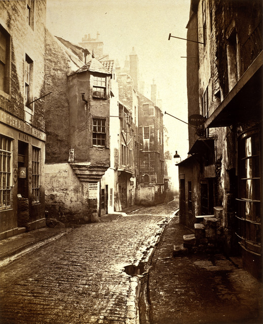 Cardinal Beatons House the Cowgate Edinburgh by National Galleries of Scotland Commons