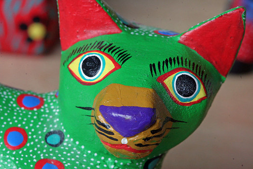 Oaxacan Carved Cats
