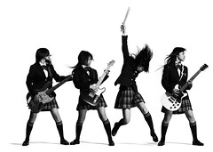 "SCANDAL ""The Most Powerful Japanese Girls Band"" (g2slp) Tags: wallpaper girl japan japanese band kawaii osaka schoolgirl scandal blackhair jpop kon blackstocking girlsband"