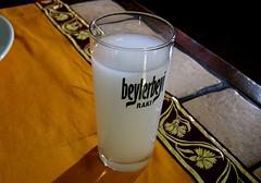 Glass of rakı, Istanbul, Turkey