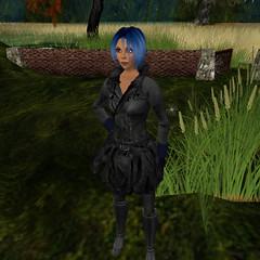 Blue Haired Grrrl, Quaddryl