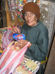 Old Woman in Market, Gracias, Honduras