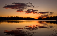 Marsh Creek Lake Sunrise - Early Winter (No_clever_names_left (Michael Lawrence)) Tags: winter sunrise reflections pennsylvania chestercounty canonefs1022mmf3545usm marshcreekstatepark marshcreeklake canoneos40d