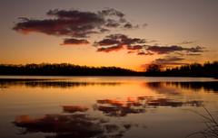 Marsh Creek Lake Sunrise - Early Winter (No_clever_names_left (Michael Lawrence)) Tags: winter sunrise reflections pennsylvania chestercounty canonefs1022mmf3545usm marshcreekstatepark marshcreeklake canoneos40d