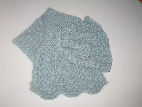 Criss Cross Lace Scarf