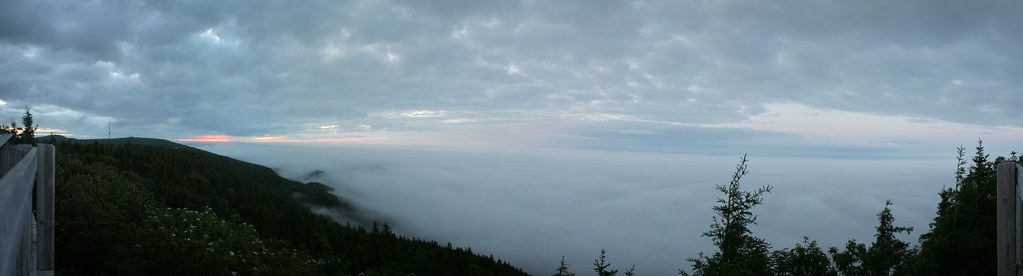 Vue panoramique du Mont Saint-Joseph