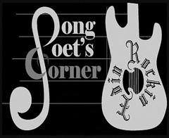 Song poets corner music logo (jaebedford) Tags: music corner john bedford gold bill guitar song band n commercial bones morris awards 500 outsiders dust hore jae poets the grennel
