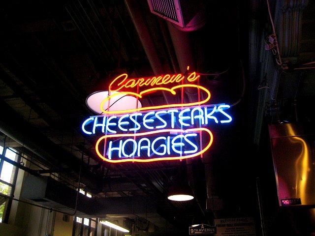 cheesesteak hoagies