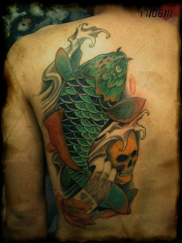 Koi fish cover up by dejavu