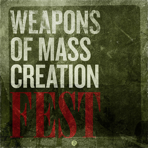 SAoS - The Weapons of Mass Creation Fest print