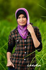 Iedaa (Abamjiwa Al-Hadi) Tags: blackandwhite girl beautiful magazine blackwhite pretty gorgeous muslim islam hijab muslimah portraiture malaysia shawl ayu melayu malay selendang wanita tudung cantik gadis butik majalah flowerofislam abamjiwaalhadi