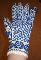 First glove palm