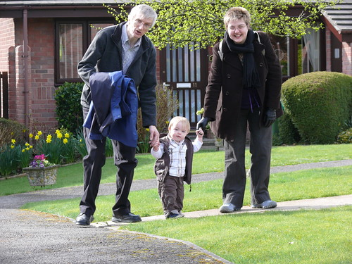 Mummy, Grandad and Me!