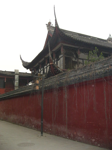 Outside Wenshu Monastery