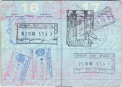 Passport 16 17 () Tags: chile brazil brasil dominicanrepublic guatemala stamp passport visa republicadominicana pasaporte sello