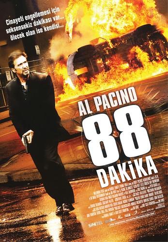 88 Dakika Türkçe Afiş