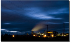 "Cometa (""PABLO"" ) Tags: longexposure sky night clouds raw factory smoke pablo olympus valladolid cielo nubes nocturna humo fbrica largaexposicin e500 zuiko1454 tafisa"