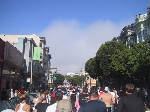 Thousands and Thousands of Bay to Breakers Runners