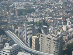 IMG_0659 (Dan_DC) Tags: city travel urban japan outdoors japanese tokyo construction highway shinjuku asia citylife aerialview backgrounds editorial scenes japaneseculture deadend fon cityview urbanlife urbanculture urbanview cityculture ribbonofconcrete