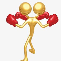 afbeelding van boksers