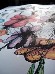 Street Flowers - in progress - 03