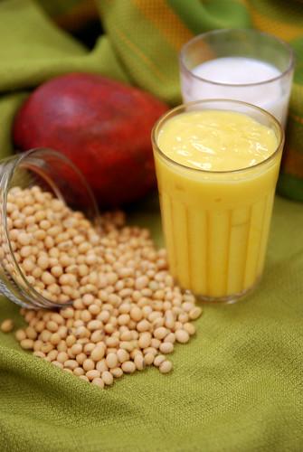 mango soy shake
