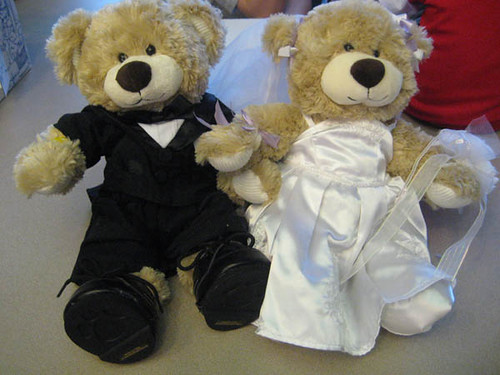 Bride & Groom bears