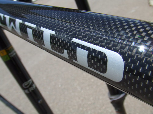 Full carbon frame and fork