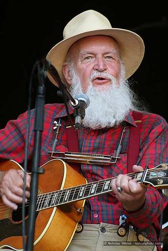Folksinger Utah Phillips at Kate Wolf Music Festival