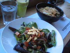 Grilled Yasai Salad and Yasai cha han