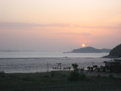 sunset on Gangwhado