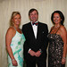 Natalie Maginnis Leo Callow and Andrea Hayes attend the Waterloo Ball.