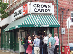 Crown Candy Kitchen in Old North (image courtesy Old North St. Louis)