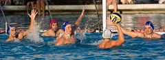 Water Polo USA v Croatia 2008 (mboxgirl) Tags: california usa game sports water team play croatia competition exhibition american olympics watersports 2008 polo waterpolo westlakevillage olympicteam
