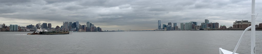 Manhattan and Jersey City panorama