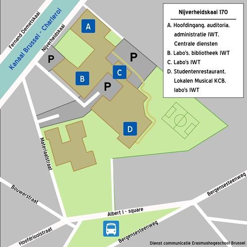 Campuskaartje Nijverheidskaai