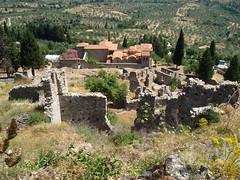 Byzantine ruins (steven_and_haley_bach) Tags: byzantine mystras sixthday mistras greecevacation byzantineruins