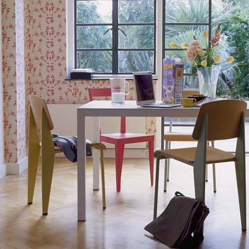 Floral-dining-room