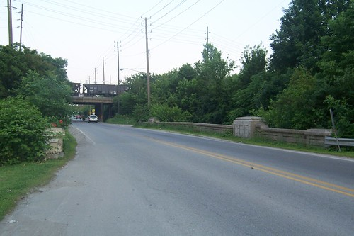 Bridge and railroad overpass