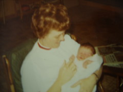 Grandmommy and Katie 1970