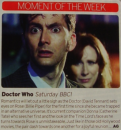 RADIO TIMES - Moment of the Week