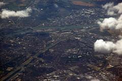 Mannheim (WrldVoyagr) Tags: river germany deutschland aerial airbus fluss rhine rhein mannheim picnik neckar a320 planeview ludwigshafen 333v3f 222v2f flus nv11 lx1019